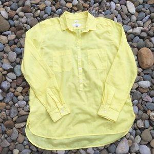 Ann Taylor Loft Yellow Blouse Women's Size Small